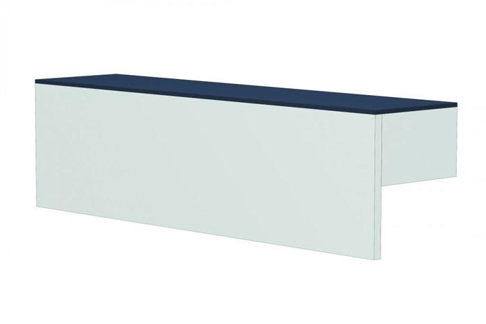 Counteraufsatz L65cm LINEUS