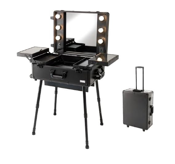 bertz friseurwagen salonzubeh r make up tisch cinema. Black Bedroom Furniture Sets. Home Design Ideas