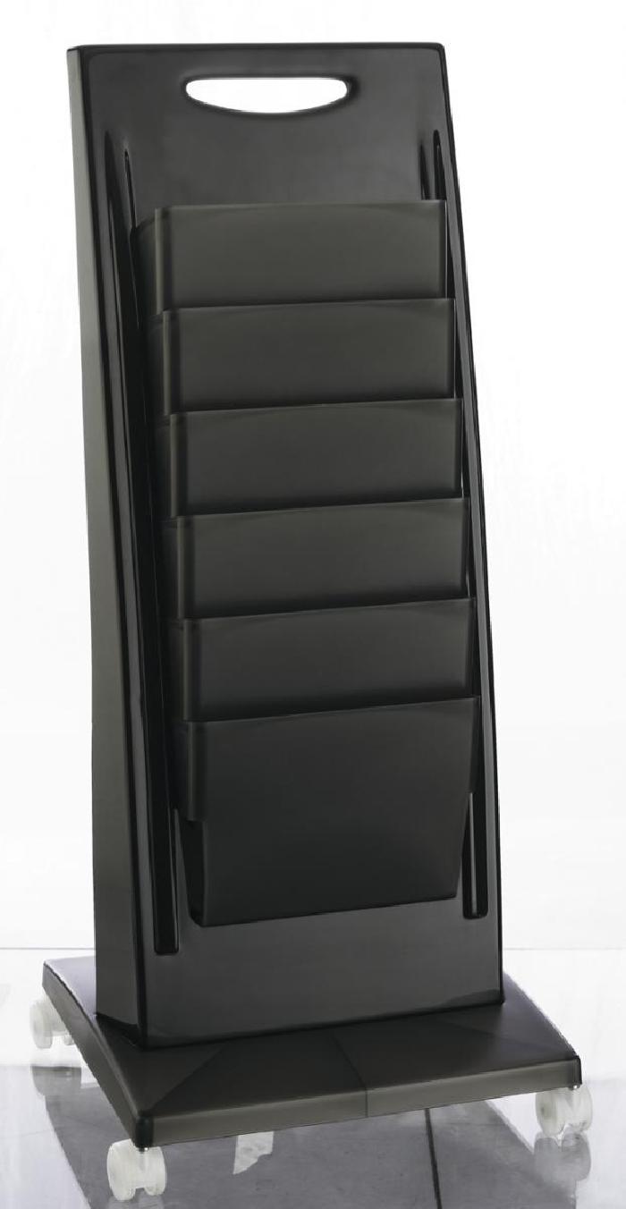 wartebereich soho zeitschriftenst nder in der farbe. Black Bedroom Furniture Sets. Home Design Ideas