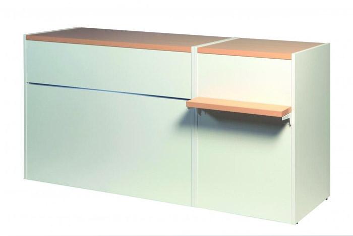 Verkaufstisch Matrix Kombi L60cm + L120cm