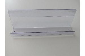 Acryl Zeitschriftenablage L66,5cm T10cm