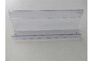 Acryl Zeitschriftenablage L125cm T10cm (88010444)