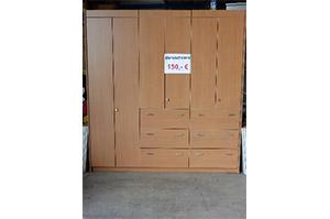 Büroschrank mit Auszügen und Einlegeböden (3200900)