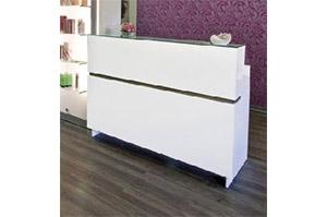 Friseur-Theke EASY STANDALONE (4000.standalone white)