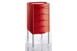 manhattan arbeitswagen trolley in der farbe rot r3 jetzt. Black Bedroom Furniture Sets. Home Design Ideas