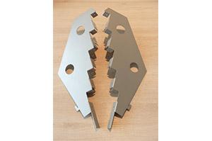 Paar Träger 5-stufig für Kartenablage T3cm (88431088)