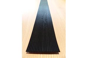 Riefengummi für Ablage L66,5cm T10cm (88720066)