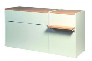 Verkaufstisch Matrix Kombi L60cm + L120cm (321022670)