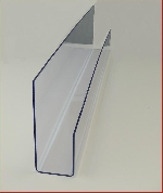 Acryl Schrägablage L66,5cm T8cm