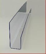 Acryl Schrägablage L125cm T8cm