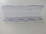 Acryl Zeitschriftenablage L125cm T10cm