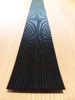 Riefengummi für Ablage L125cm T10cm