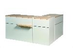 Verkaufstisch Matrix Eckkombi  L120cm + L60cm + L120cm