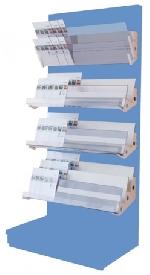 Zeitschriftenablagen-SET L100cm