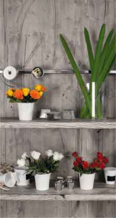 Massivholz für Floristik-Geschäfte