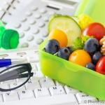 Gesundes Essen im Büro