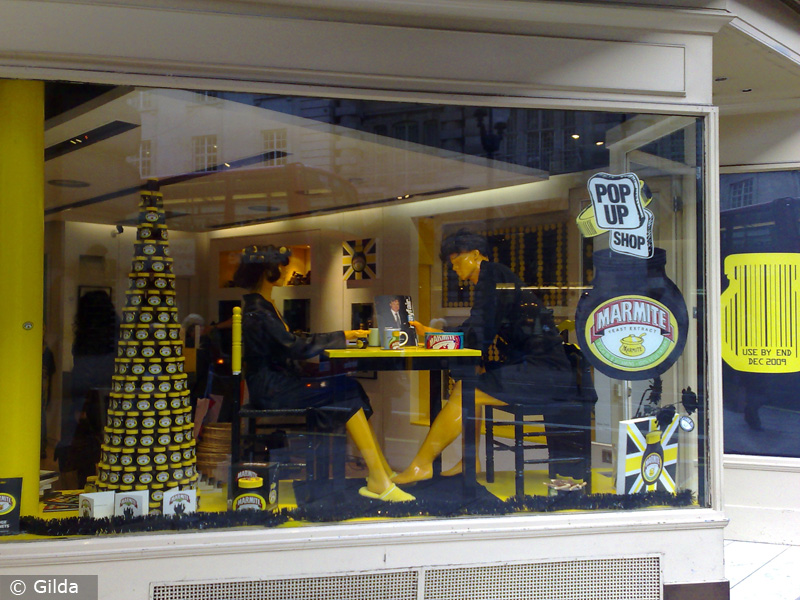 Marmite Pop Up Store in England