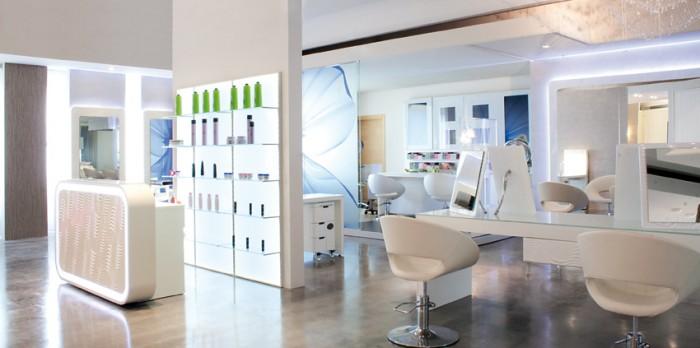 Trend 2015: Helle Salons mit weiß als dominierender Farbe