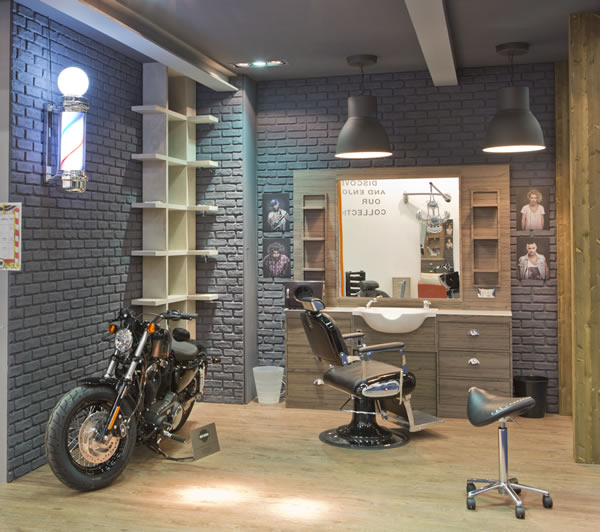 Barbershops wo bartpflege stilecht zelebriert wird for Einrichtung shop
